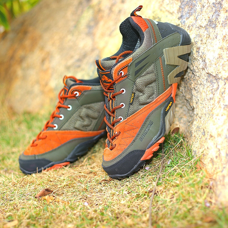 ALEADER Waterproof Hiking Shoes Men 2015 Leather Outdoor Shoes ...