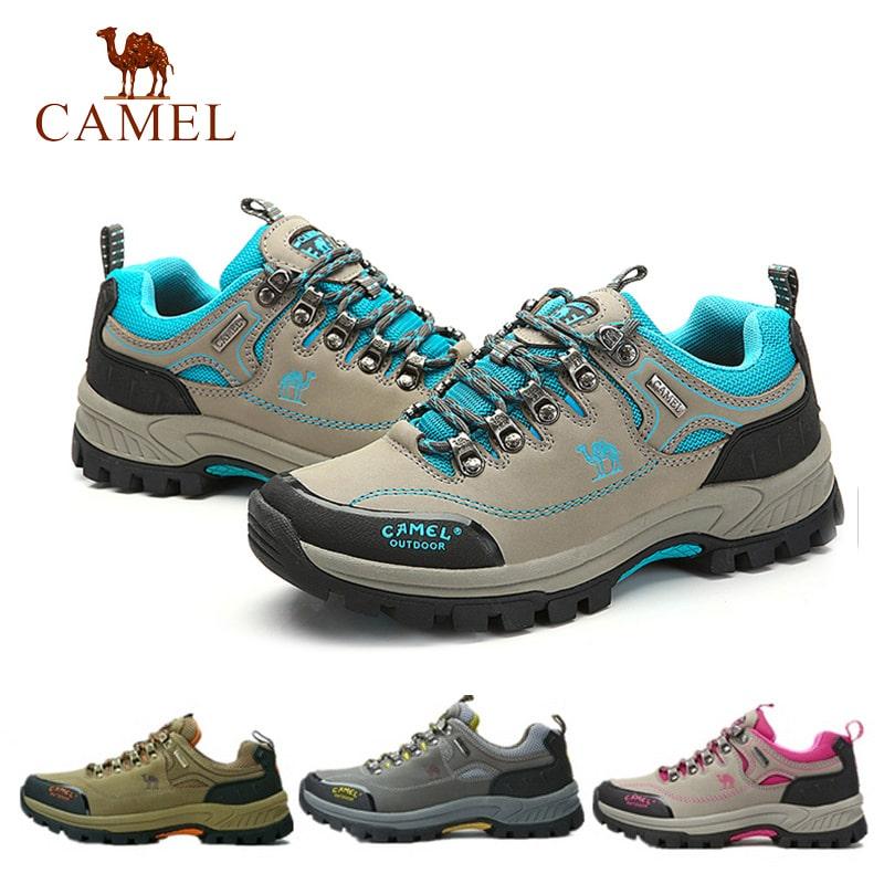 New 2015 Brand Camel Men & Women Breathable Sport Climbing Hiking Antiskid  Outdoor Waterproof Lover Walking Shoes Size 35-44
