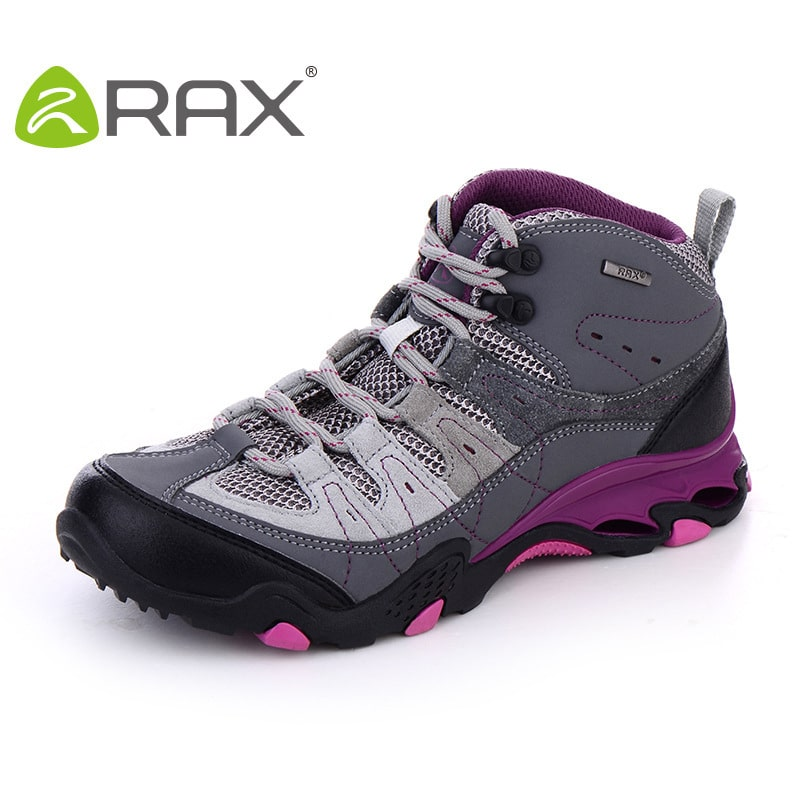 RAX new spring and summer women's breathable suede leather hiking ...