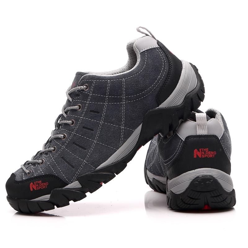 Waterproof Men Women Leather Hiking Shoes Low New 2015 Sport ...
