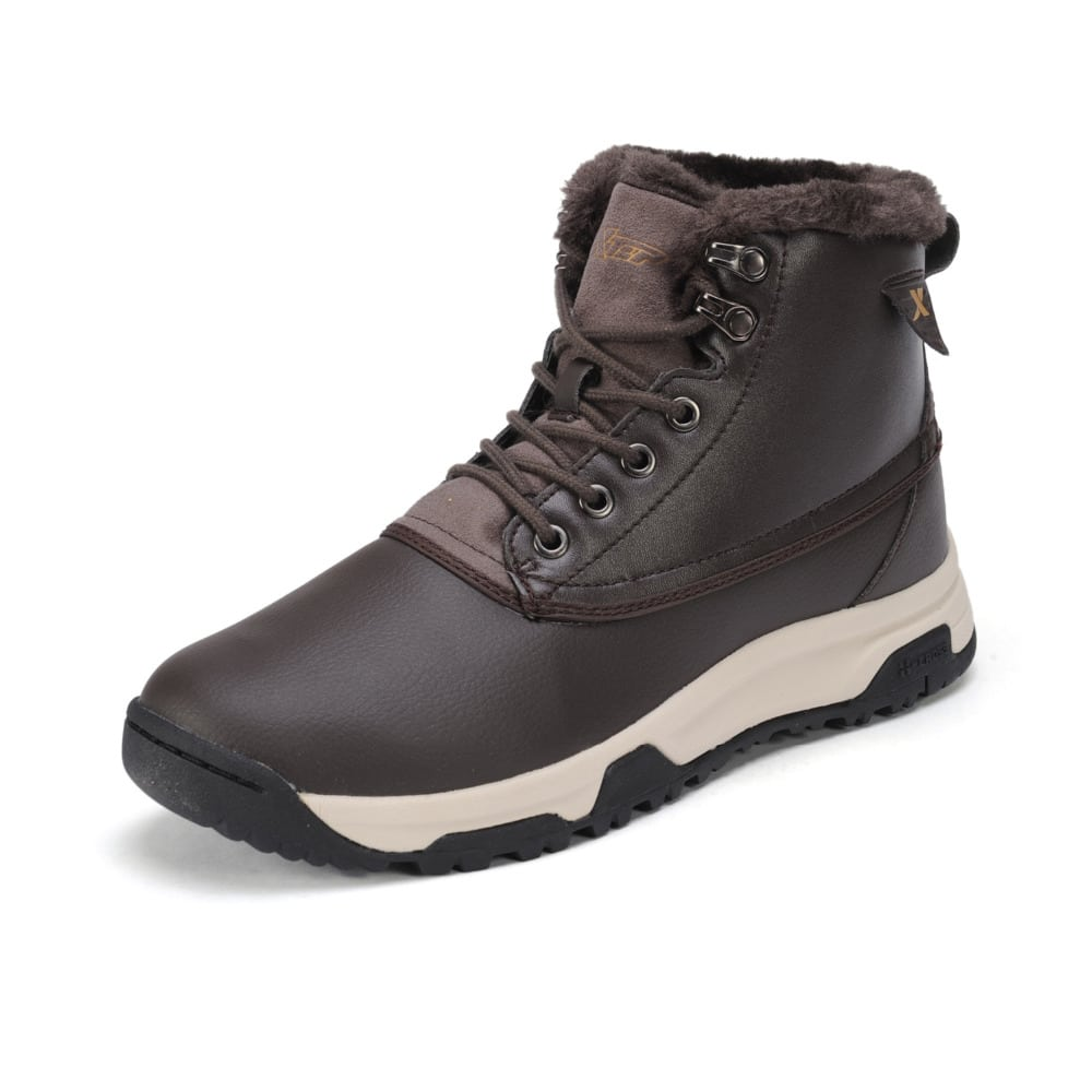 xtep shoes winter thermal outdoor hiking climbing