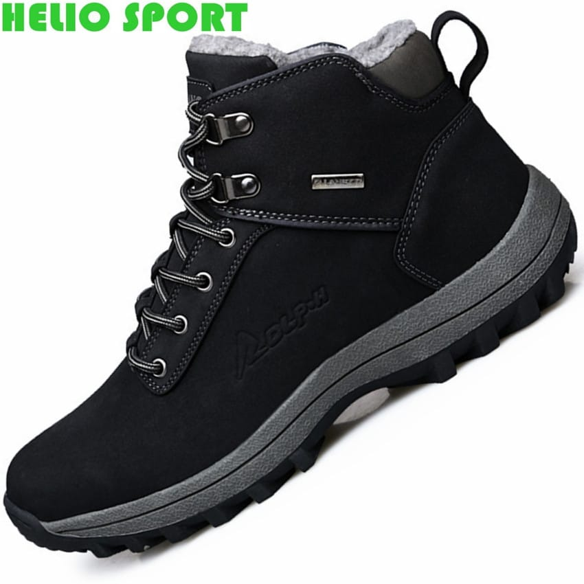 outdoor casual sport winter hiking shoes men trekking climbing ...