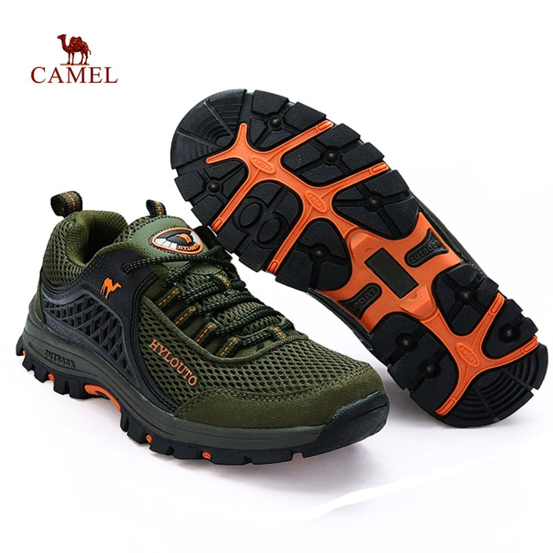 Plus size men Hiking shoes Outdoor