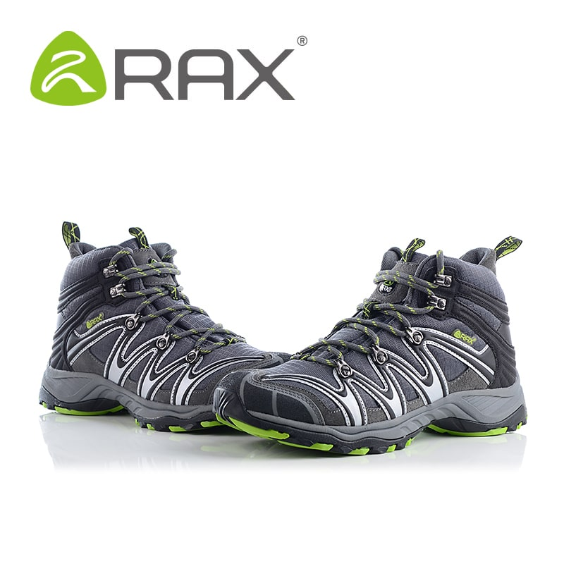 89d87b96a66 RAX Waterproof Hiking boots Lightweight 0.9kg Breathable Hiking Shoes Men  Senderismo Mountain Shoes Outdoor Sprots Free shipping