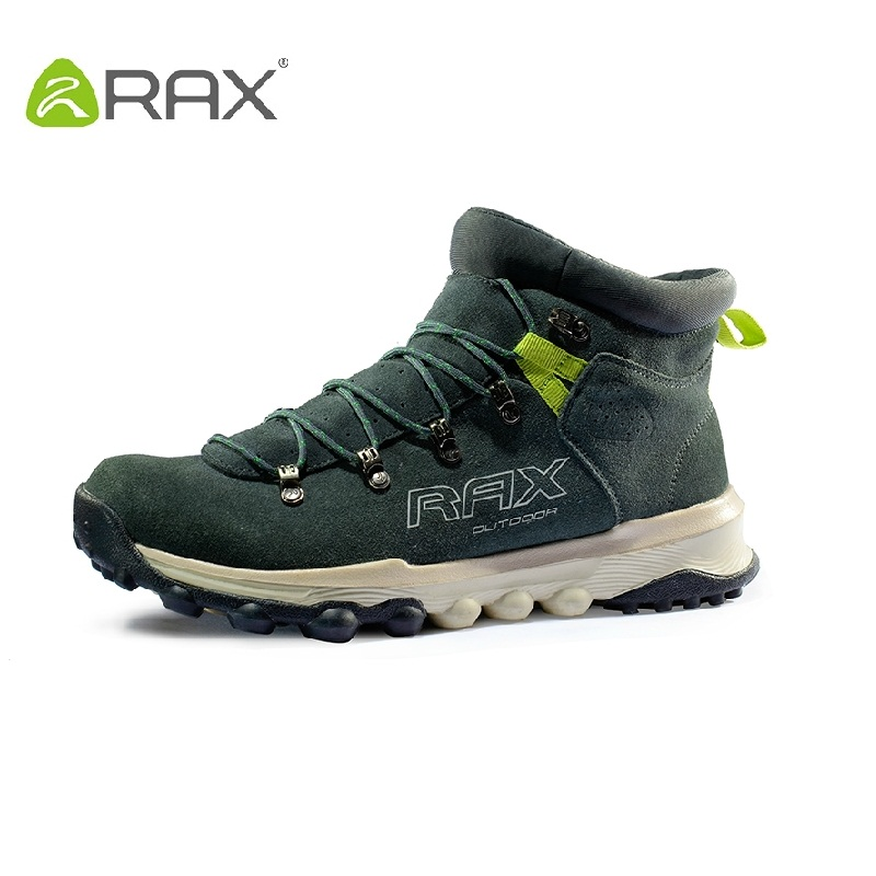 397c212731c RAX authentic men waterproof hiking shoes women outdoor shoes autumn and  winter geniune leather shoes men size 36-44 #B2024