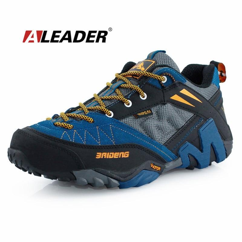 Waterproof Men S Genuine Leather Hiking Shoes New 2015