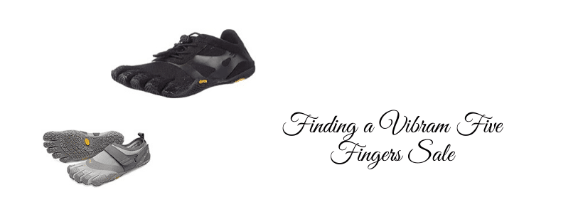 Finding a Vibram Five Fingers Sale